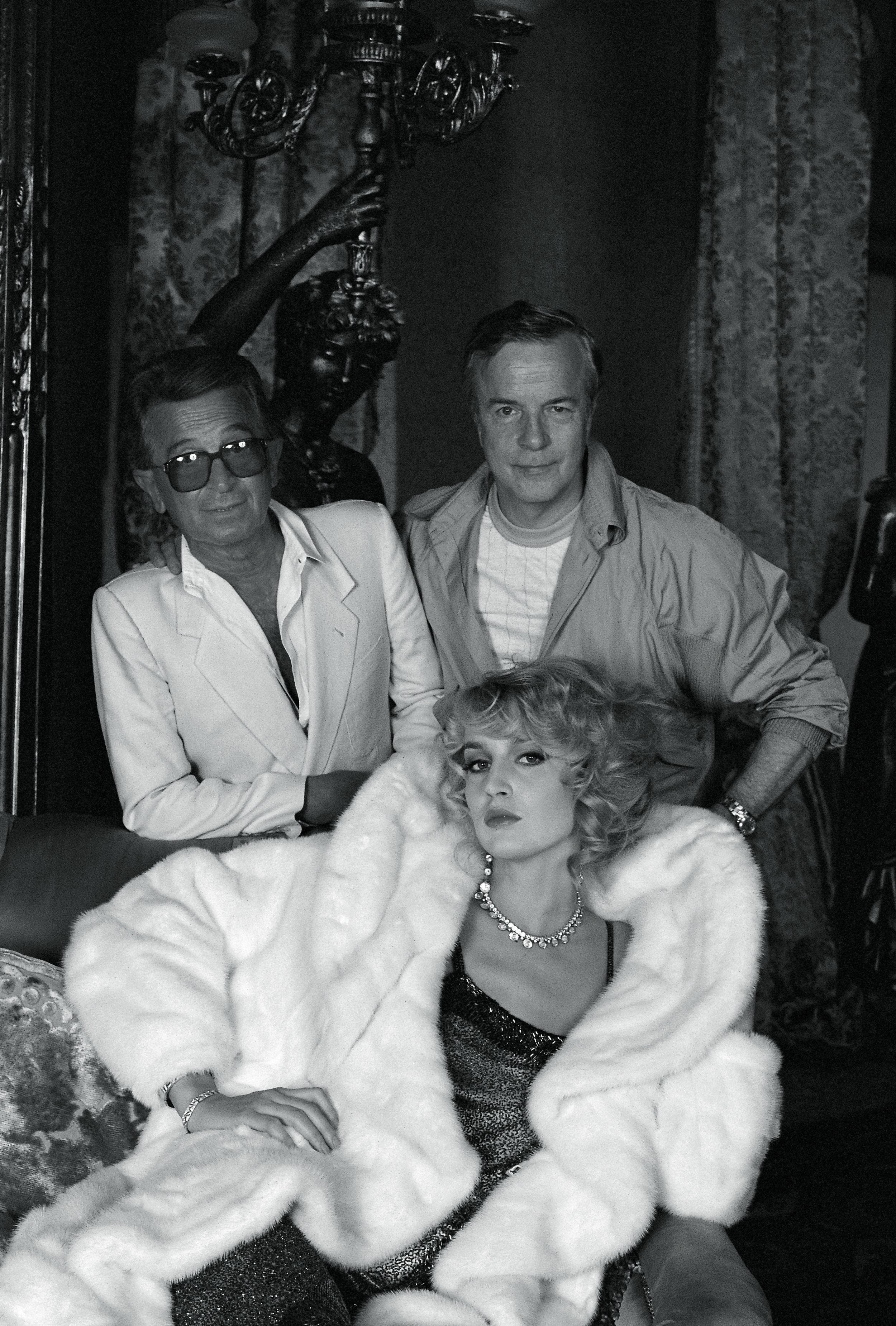 Il Maestro Franco Zeffirelli firma per Annabella la regia di uno spot televisivo… - con protagonista Jerry Hall.