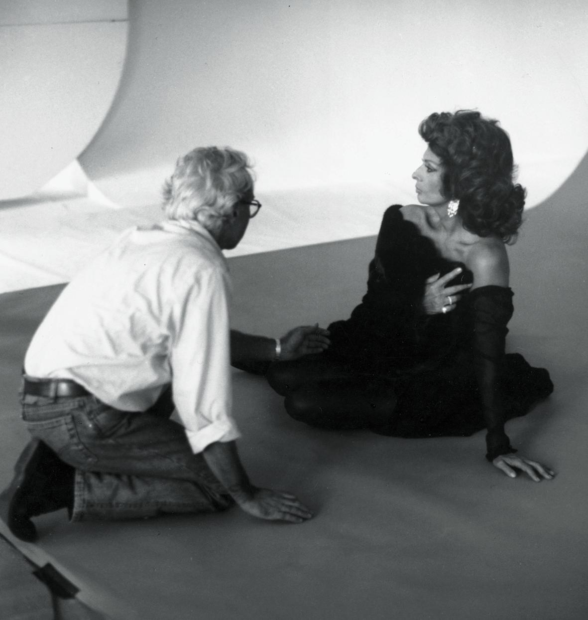Sophia Loren, che lega la propria immagine al brand - ormai diventato icona della pellicceria italiana, attraverso l'obbiettivo di un maestro della fotografia come Gianpaolo Barbieri.
