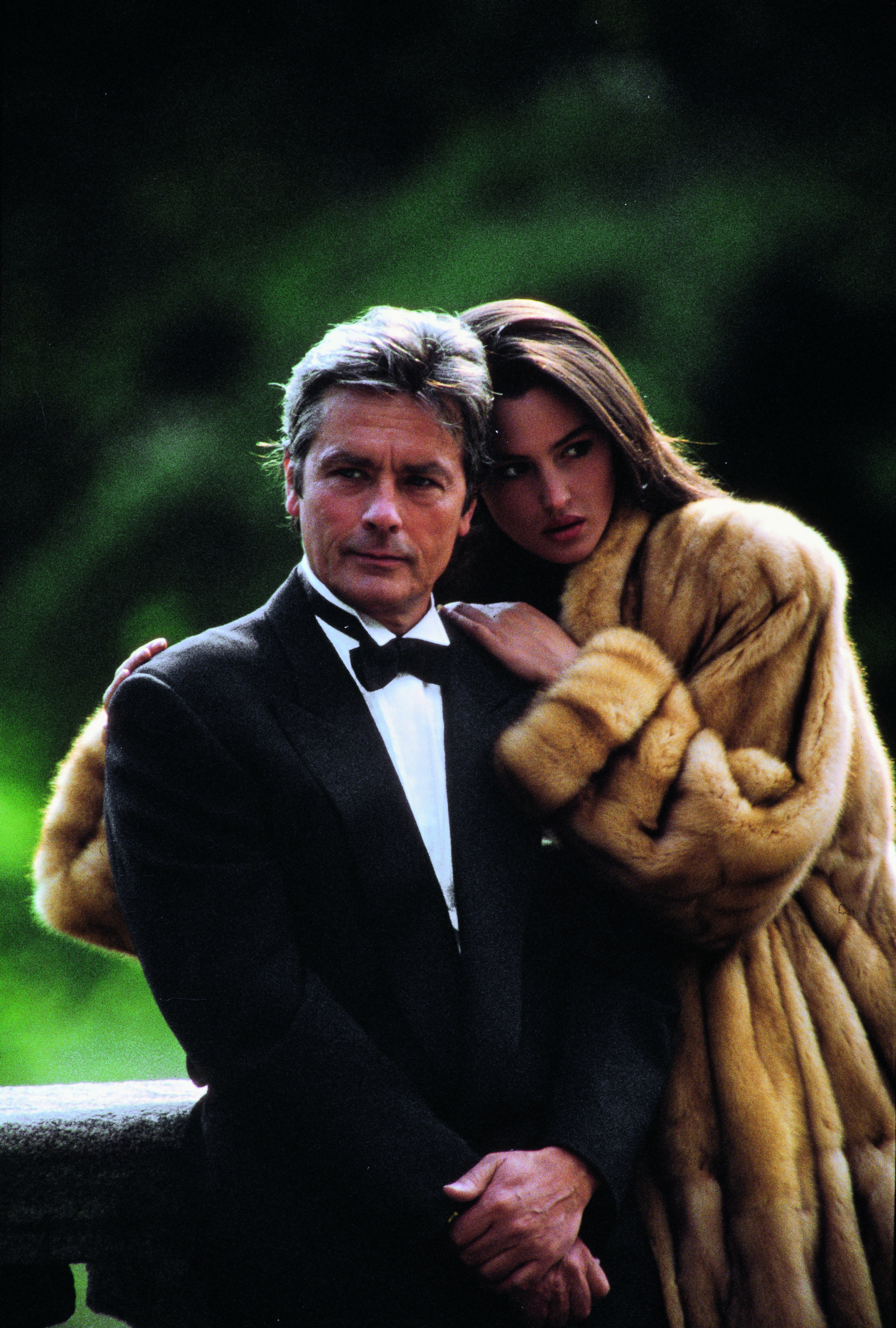 after which it was the turn of Alain Delon - with a young Monica Bellucci. Also followed by…