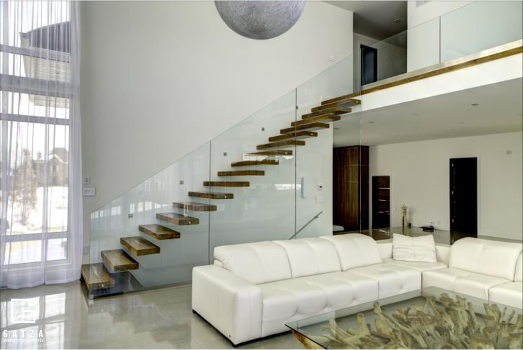 PREMIUM WALL STRINGER FLOATING STAIRCASE