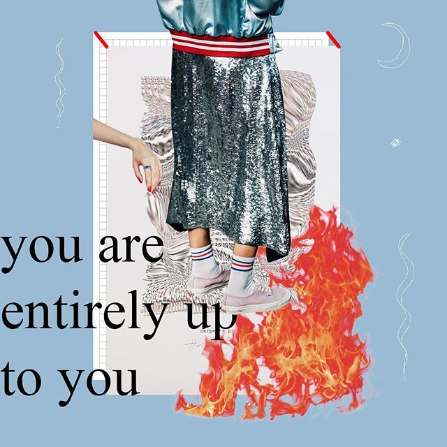 That's bold of you. #design #fashion #typography #graphicdesign #collage #collageart #digitalcollage