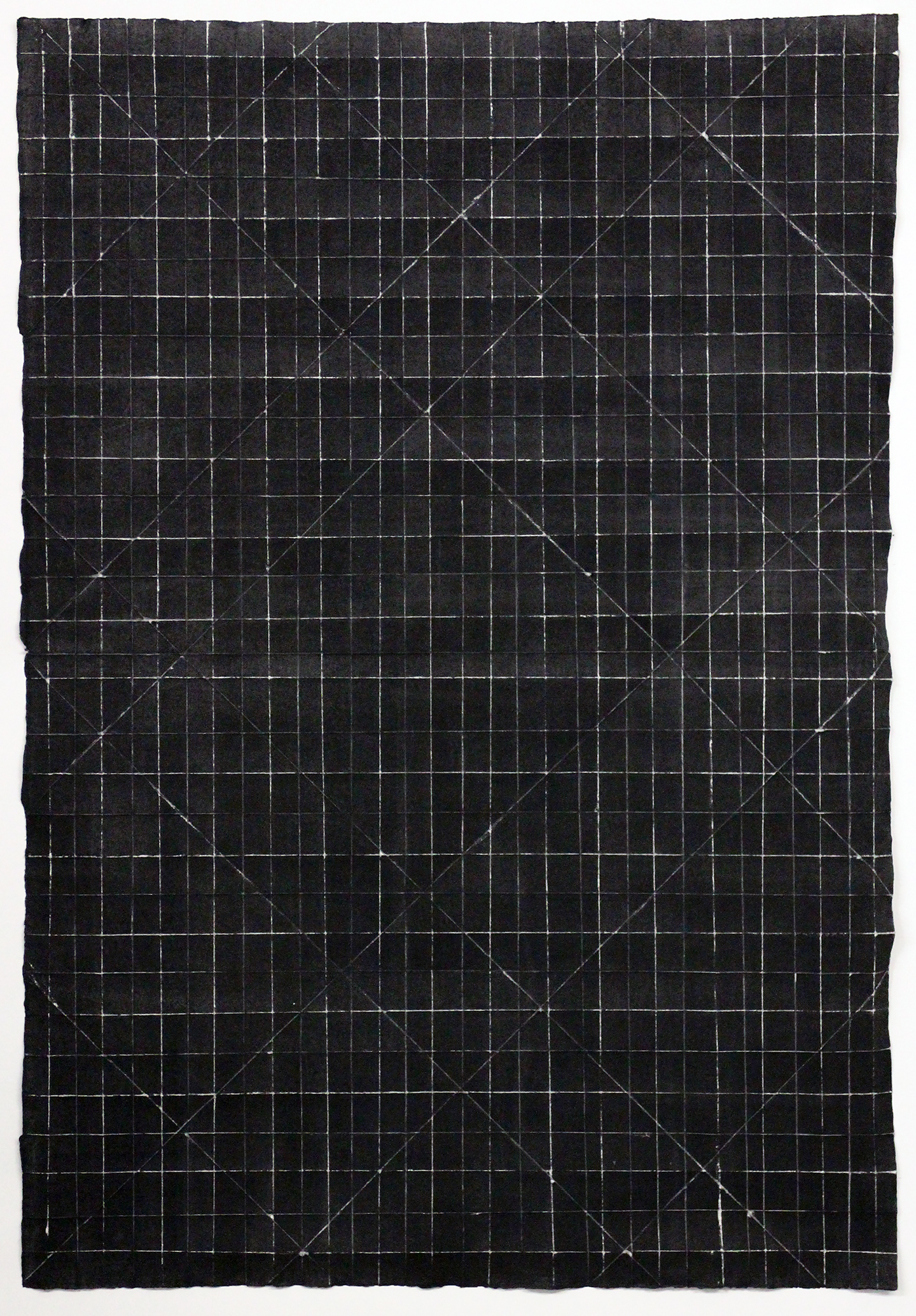 Diagonal Fold Drawing 1
