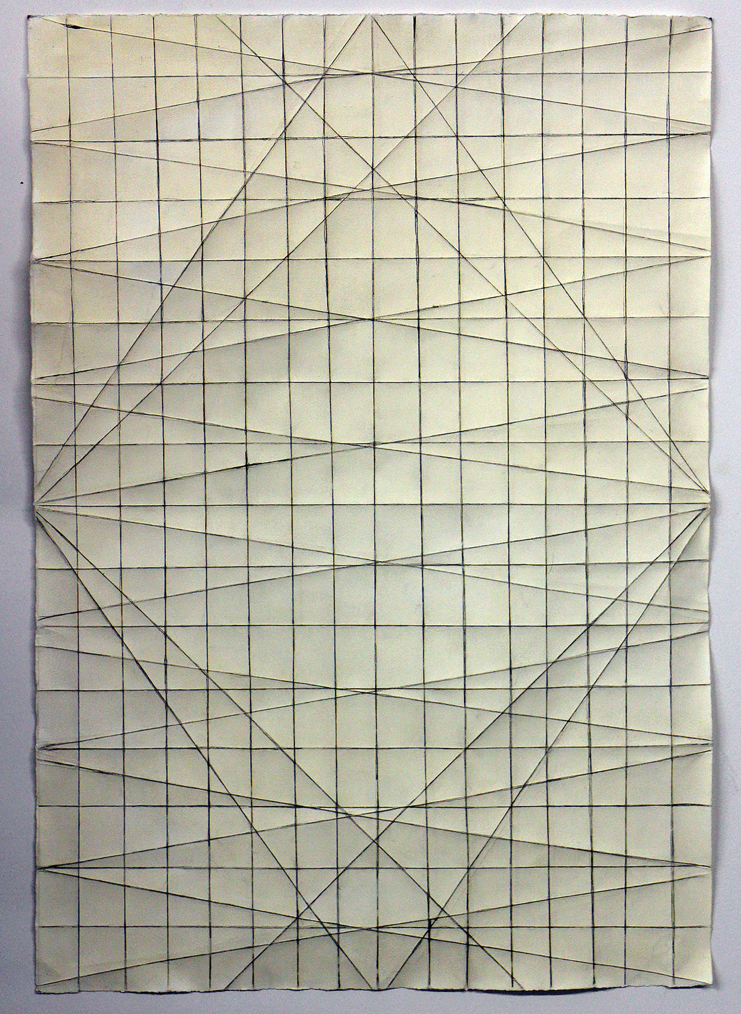 Diagonal Fold Drawing 2