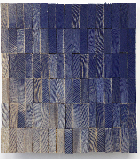 Blue Spray Panel