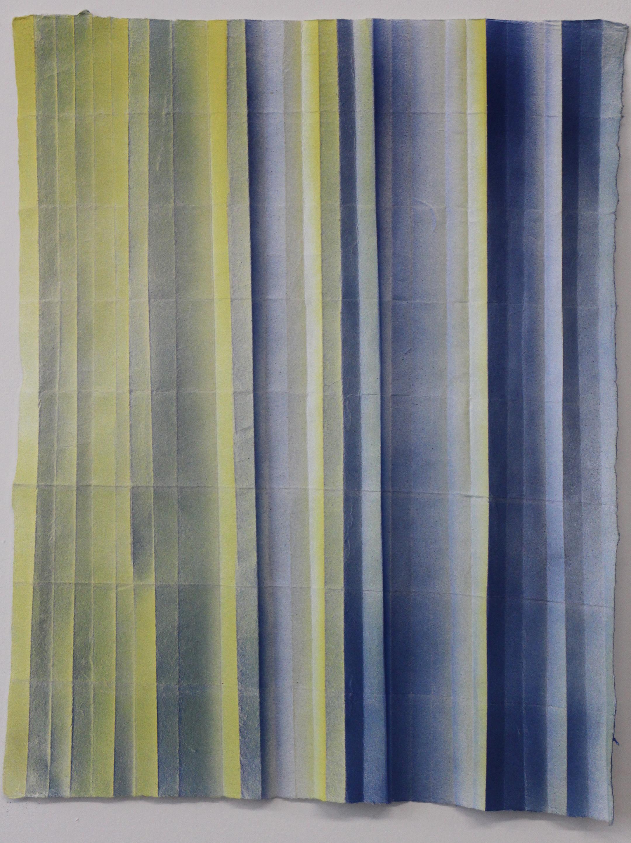 Blue, Yellow Spray 1 1/2 x 3  5.9.15
