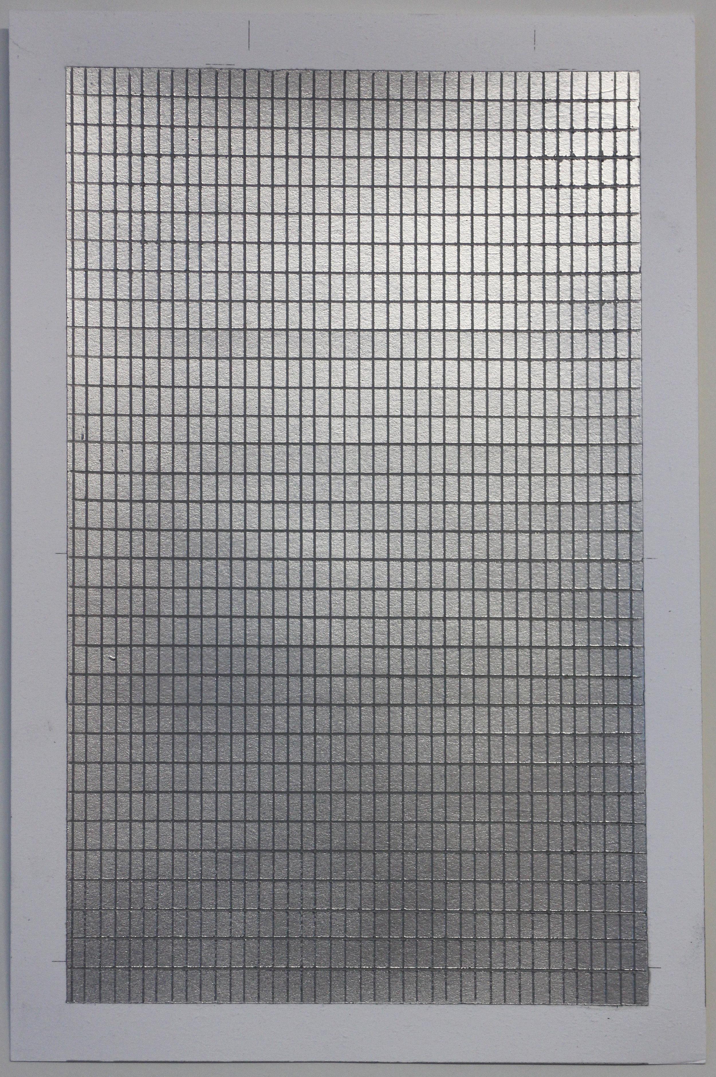 Silver Grid 1.4x1.2  2.4.17