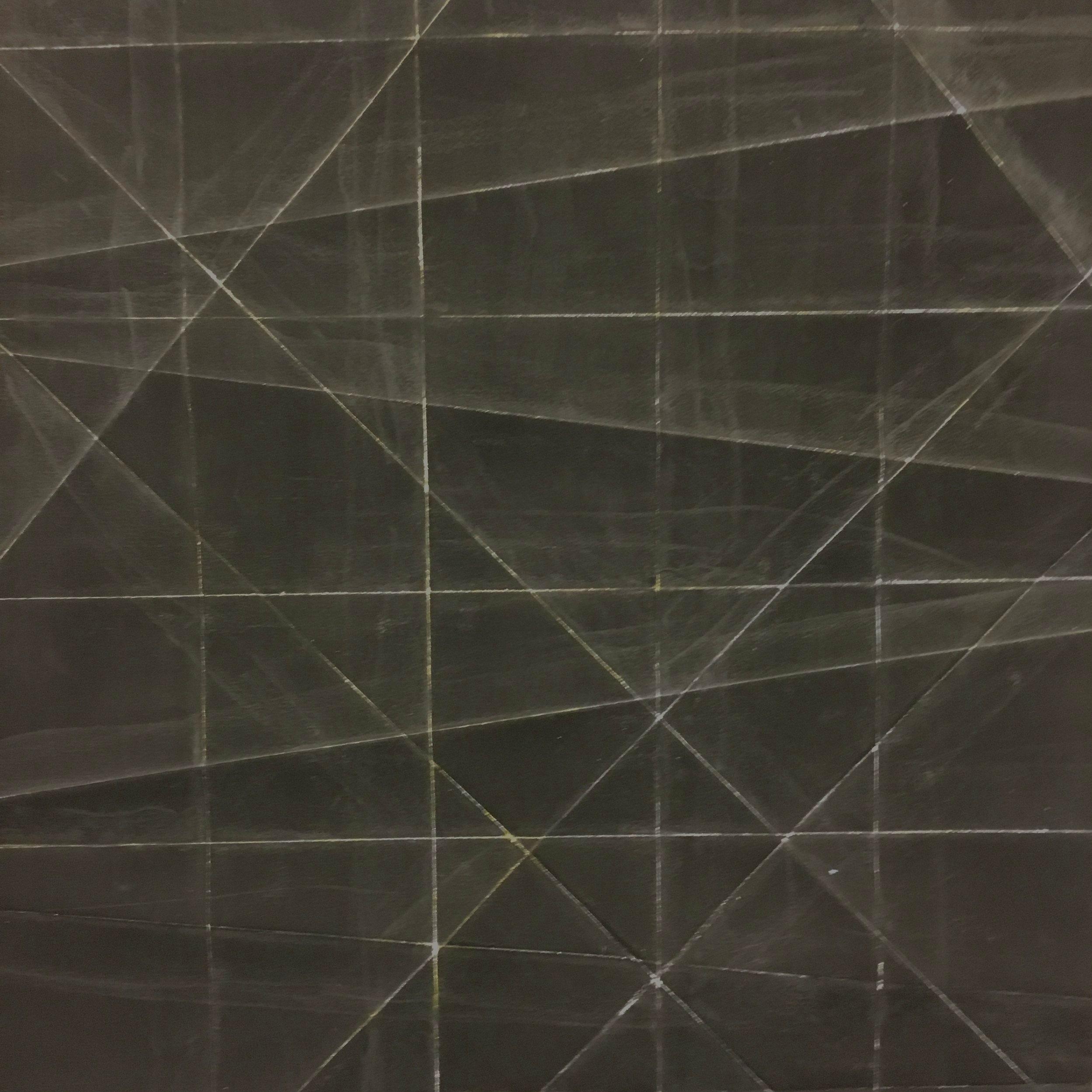 Large Diagonal Fold - Detail