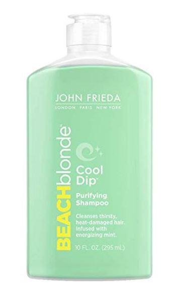 Basil & Turmeric   John Frieda Beach Blonde Cool Dip Purifying Shampoo