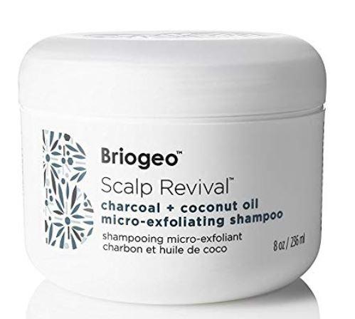 Basil & Turmeric   BRIOGEOScalp Revival Charcoal + Coconut Oil Micro-exfoliating Shampoo