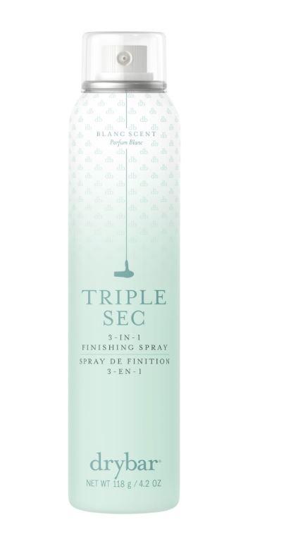 Basil & Turmeric    Dry Bar Triple Sec 3-in-1 Finishing Spray