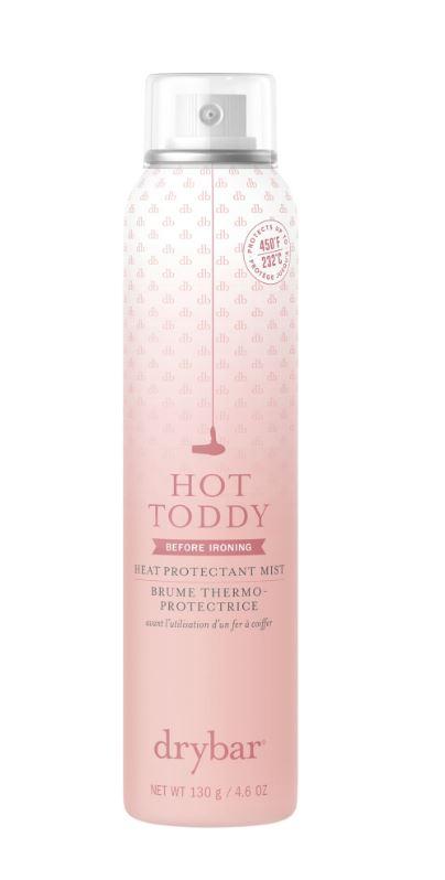 Basil & Turmeric   Dry Bar Hot Toddy Heat Protectant Mist