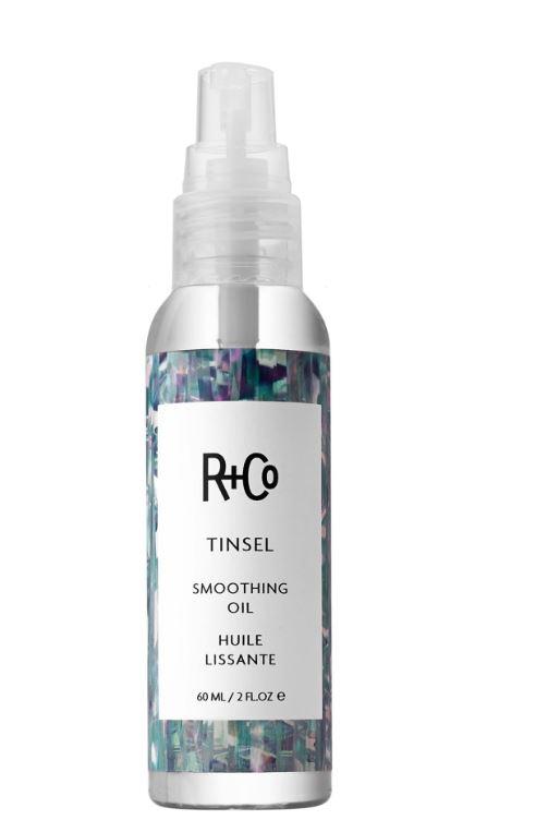 Basil & Turmeric   R+Co Tinsel Smoothing Oil