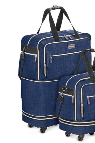 Basil & Turmeric | ZIPSAK BOOST MAX! WIDE BODY CARRY-ON EXPANDS TO LARGE CHECK-IN BAG