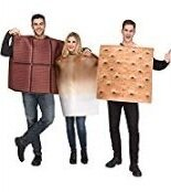Basil & Turmeric | Fun World S'Mores Adult Costume (Trio)