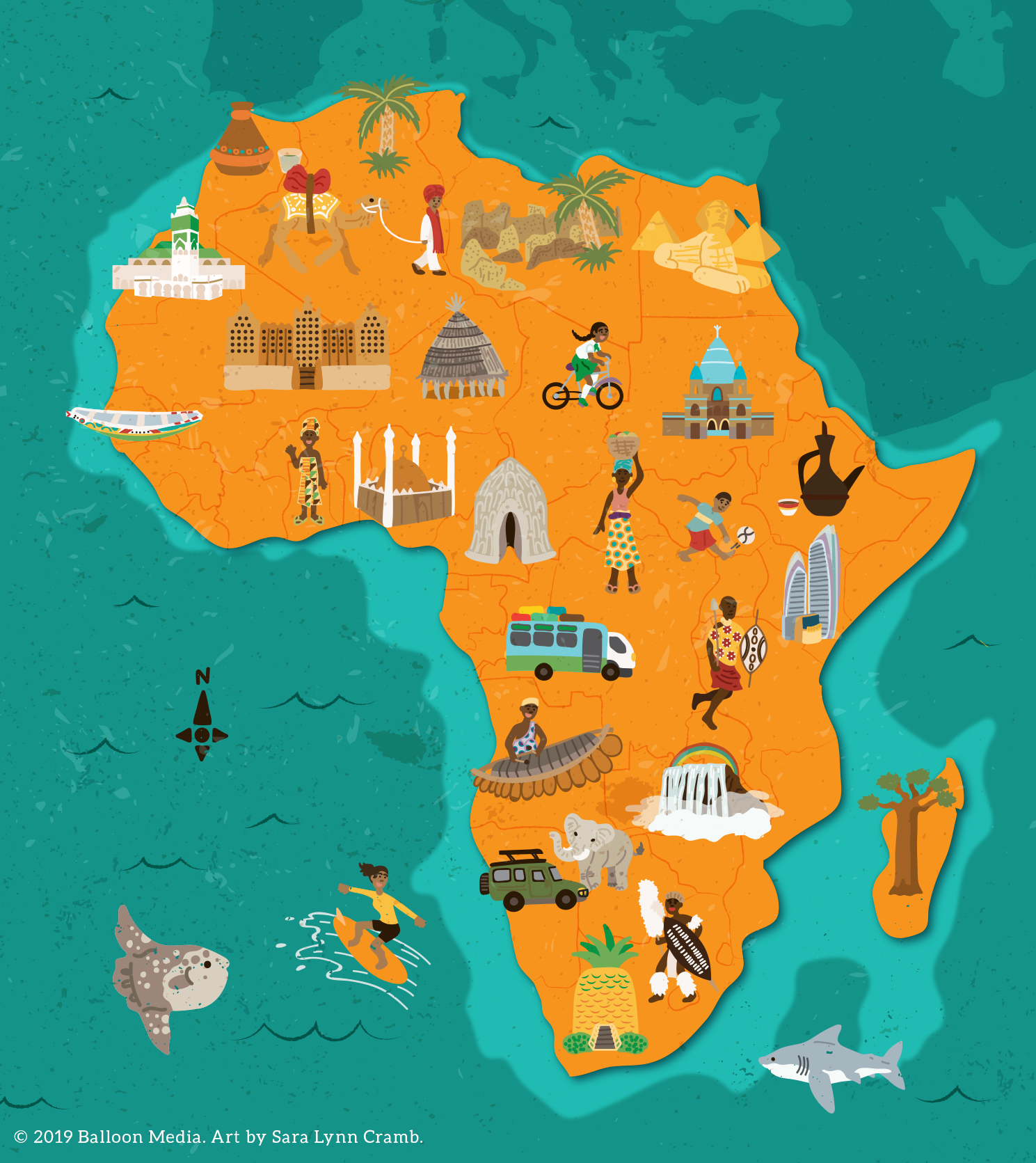 Cultural map of Africa