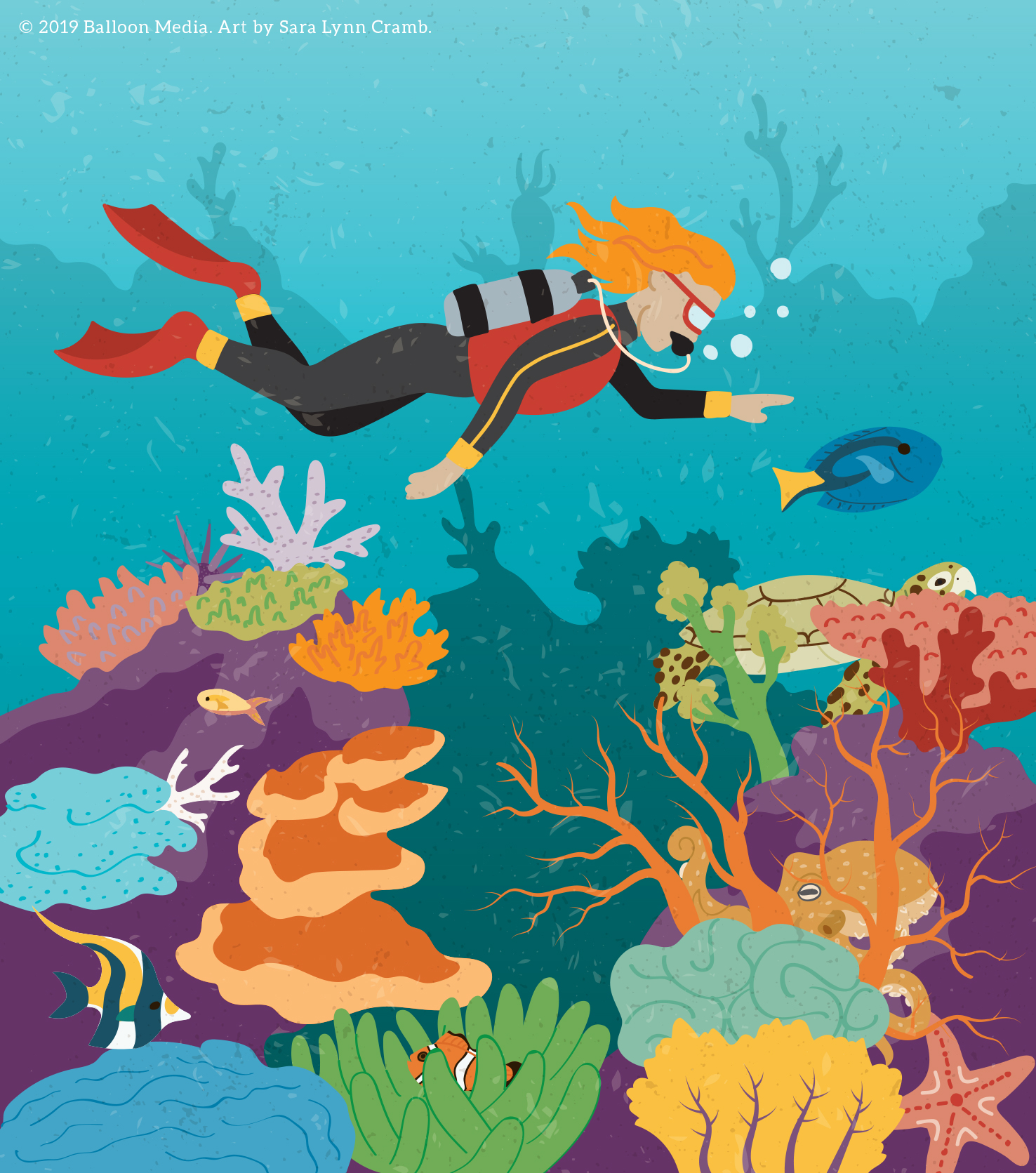Coral reef search and find