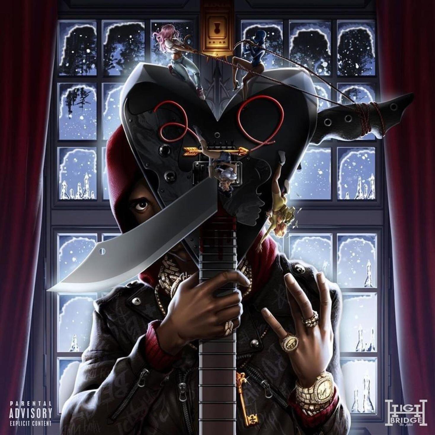 20x20 24x24 Poster A Boogie wit da Hoodie The Bigger Artist Album Cover K-677