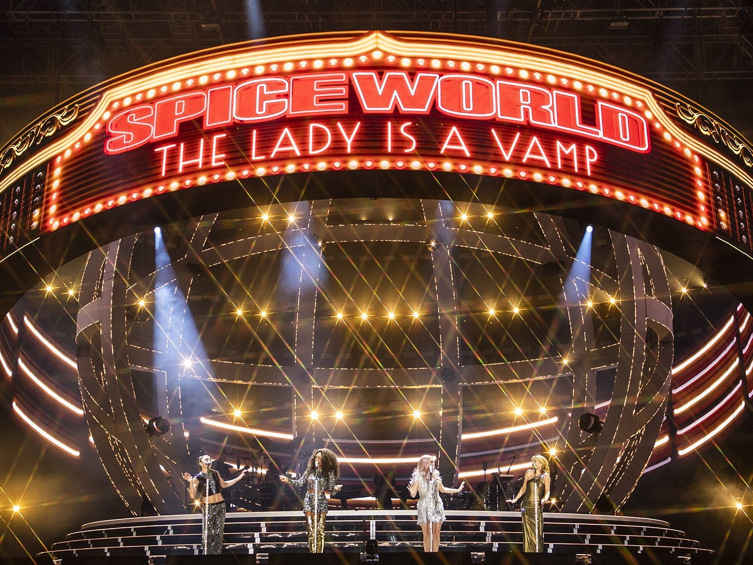 SPICE GIRLS   Touring LED package / Tim Routledge