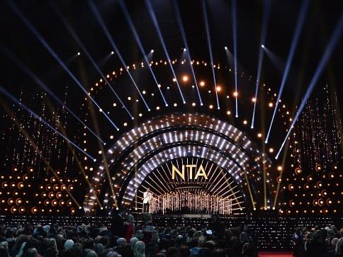 NTAs 2017   LED installation / set design: Chris Webster, lighting design: Dave Davey