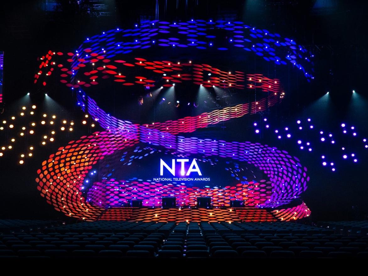 NTAs 2019   LED installation / set design: Stufish, lighting design: Dave Davey