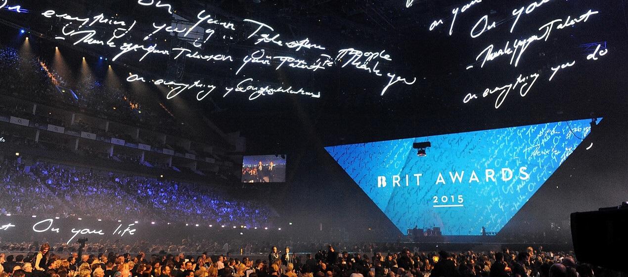 BRIT AWARDS 2015   Scenic fabrication / Es Devlin