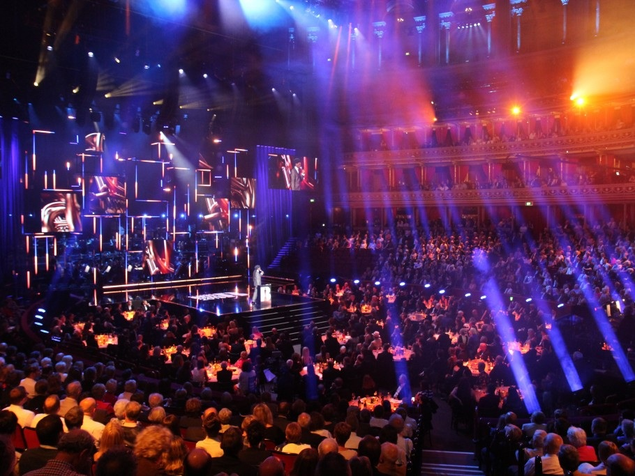 CLASSICAL BRIT AWARDS   LED installation - Bruce French