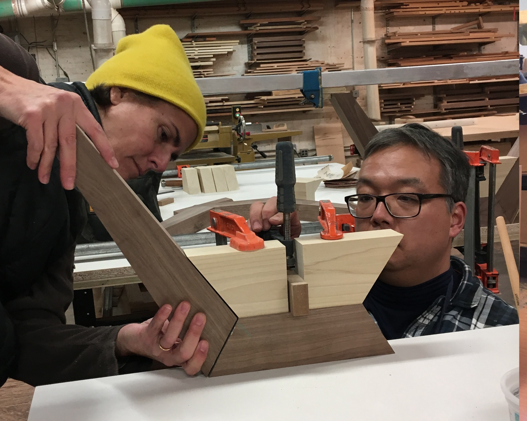 Classes - Classes are more in-depth courses in woodworking over a series of weeks to increase skills and knowledge. Students are guided through all machine set ups for safety and accuracy.