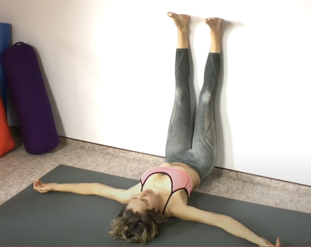 Legs Up the Wall Pose Benefits — FemFusion Fitness