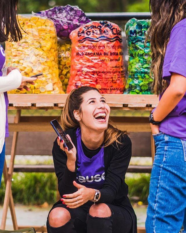 ansiosx para o próximo desafio...... Já se cadastrou em // causei.com.vc? ✌️ a plataforma que promove ações de voluntariado em troca de recompensas incríveis para todos que participam! #boracausar