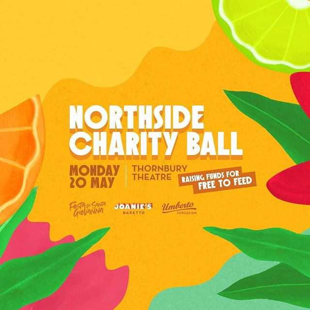 We're looking forward to playing at the Northside Charity Ball!  They're raising funds for Free to Feed ... get your tickets now and support this wonderful event!  Festa di Santa Giovanna presented by the crew @joaniesbaretto and @umbertoespressobar.  @freetofeedmelbourne . . .  #freetofeed #charity #ball #hornsofleroy #horns #party #friends #brass #trumpet #trombone #sousa #drums #yamaha #thornbury #theatre #highst #music #live @#support