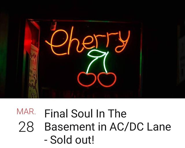 Last night at our beloved @cherrybarmelb tonight! . . . #horns #cherry #bar #beers #party #fun #gig #music #acdc #live #trumpet #trombone #melbourne #australia #brassband #hornsofleroy #soldout