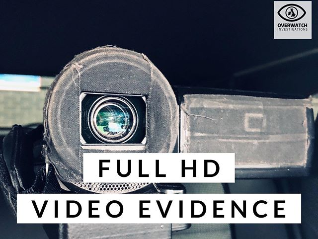 One of the many reasons to choose Overwatch Investigations Ltd, All of our evidence is full HD and given in a format that suits you! Link in bio 👌🏻#surveillance #privateinvestigator #truth #covert #watching #overwatch