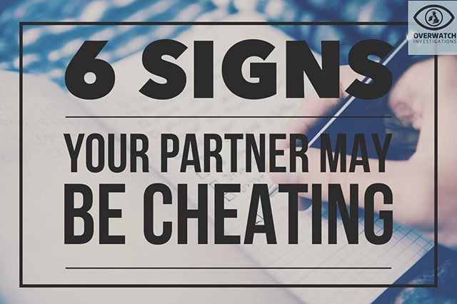 6 of the most common signs your partner may be cheating, check them out and see if we could help you get the answers. Link in bio #derbycity #nottingham #privateinvestigator #surveillance #truth #covert #cheating