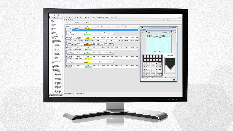 TMS6 Status Screen