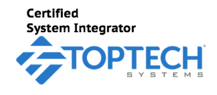 Toptech Certified System integrator