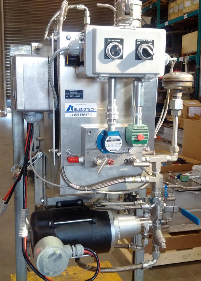 Blendtech ECM Truck Mounted Injection System