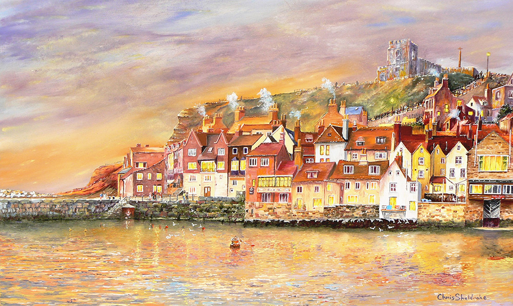 Whitby Dawn Reflections