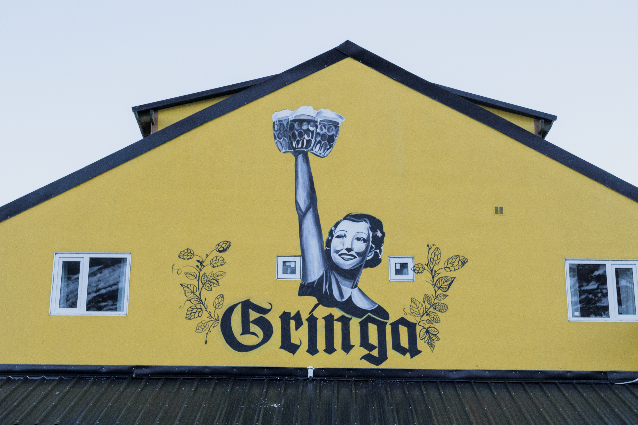 We found good pizza and great beer at La Gringa.
