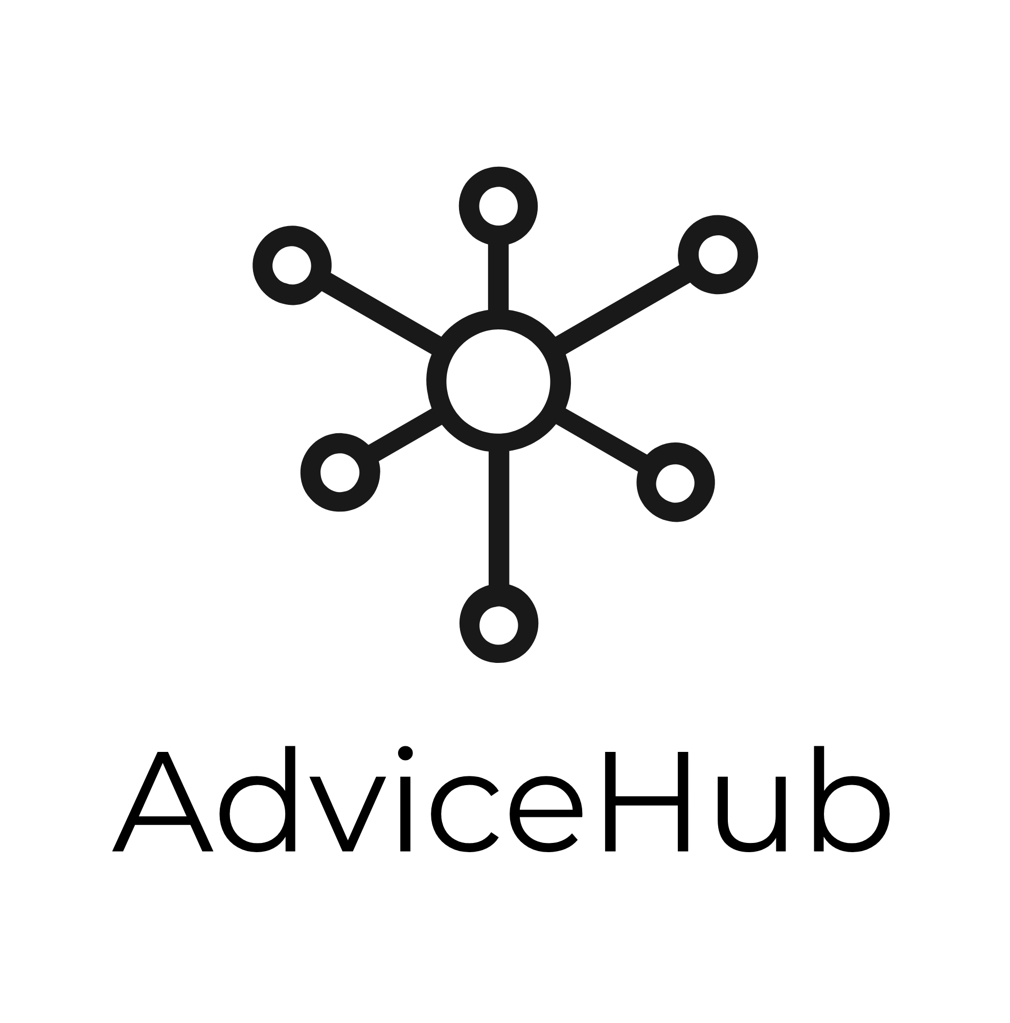 AdviceHub Logo - black on white.png
