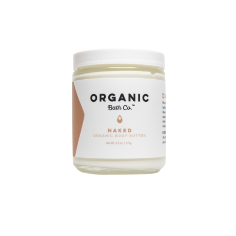 Hand crafted to deliver moisture of the most luxurious, longest lasting variety, our unscented, 100% organic  Drenched Body Butter  has everything your skin needs to become the soft, dewy, and radiant.
