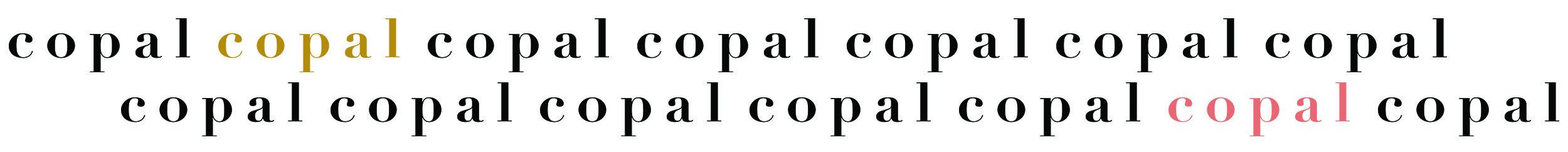 Copal Logo Repeat