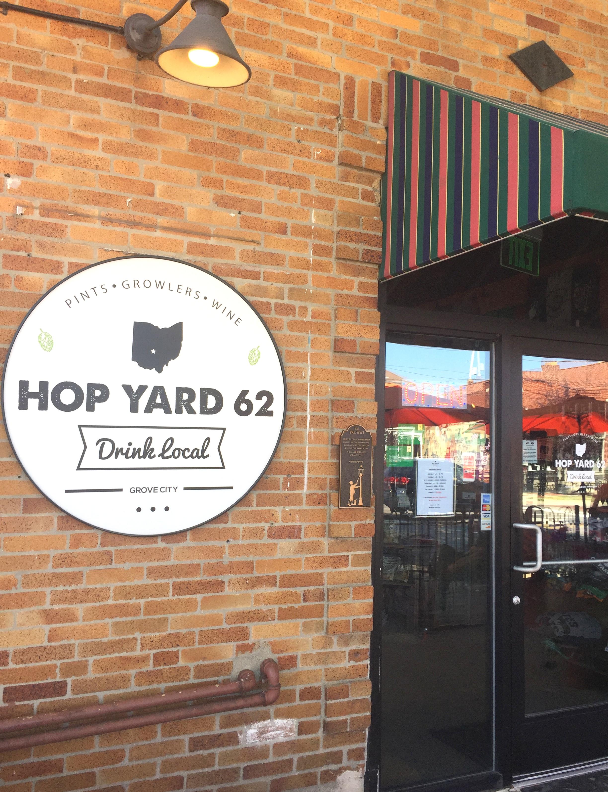 Hop Yard 62: Grove City's Hometown Hangout