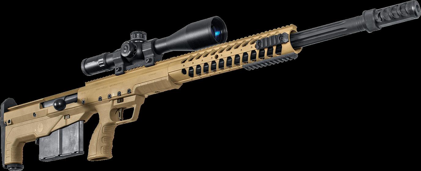 Desert Tech HTI - Die Desert Tech HTI - Hard Target Interdiction - ist ein Scharfschützengewehr auf höchstem Niveau.Als