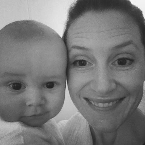 This is me and my mat leave sidekick, 7 years ago!