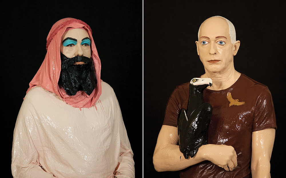 The Wallace Arts Trust Vermont Award  Julia Holden,  Self Portrait (Mark and Paul Rayner) , 2019, Archival pigment print, 1750 x 1412mm