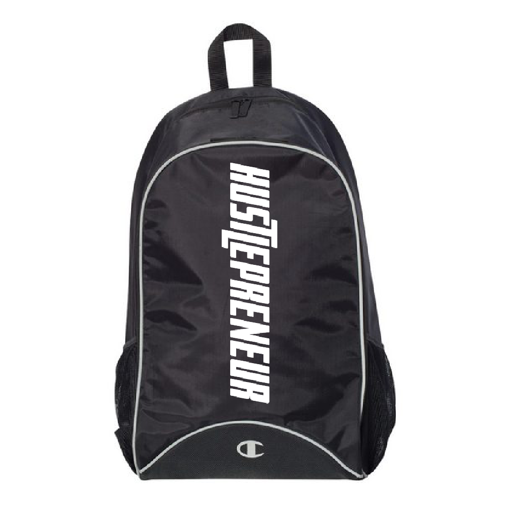 Hustlepreneur X Champion Premium Backpack
