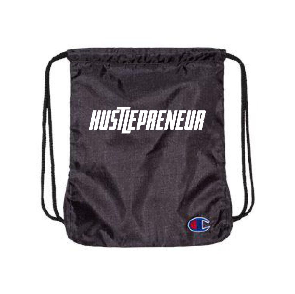 Hustlepreneur X Champion Premium Drawstring Pack