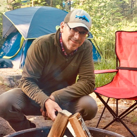 Mark - Fun Fact: I'm a lover of music and gigged regularly with the same band in mid/southern Michigan for over 15 years, playing acoustic/electric guitar and harmonica.Favorite outdoor activity: Camping and fly fishing the Manistee River for Hexagenia limbata, a.k.a Giant Mayflies.Favorite Bearcub items: Almost impossible to answer, but I would have to say any of the sizes in the North Face Base Camp Duffel Series.