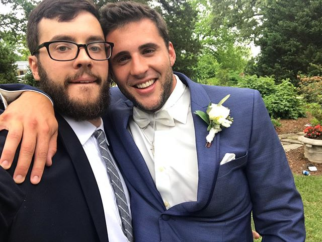 Happy birthday to a fella that makes me look ugly in every picture we take together, but I'd never want to share a head shape or that weird little bald patch in our beards with anyone else. You're a great father and one of the most loyal people I've ever met. Your passion makes you a force of nature and I can't wait to see the ways you shape the world. Love you, little bro.