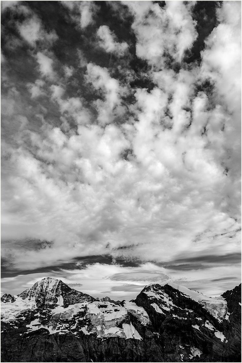 Schiltorn Clouds. Landscape EDPI